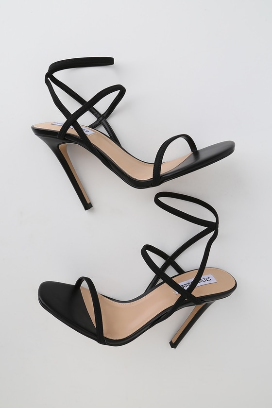 05b3c97a29b Nectur Black High Heel Sandals