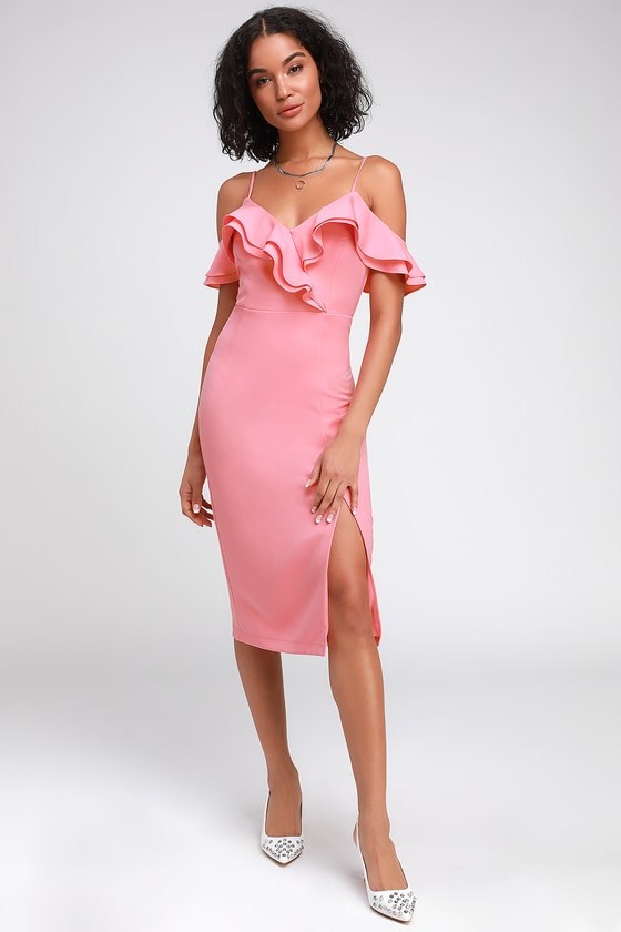 Pink Cocktail Party Dresses