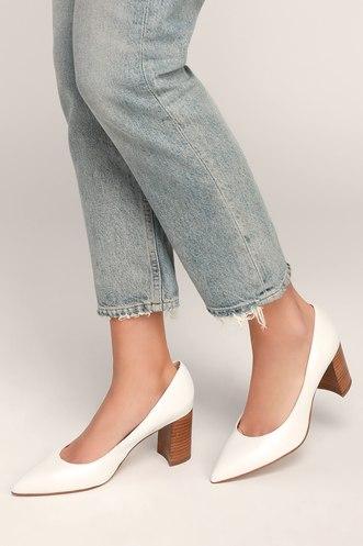 8185358ef83f Trendy Block Heels and Chunky Heels at Lulus.com