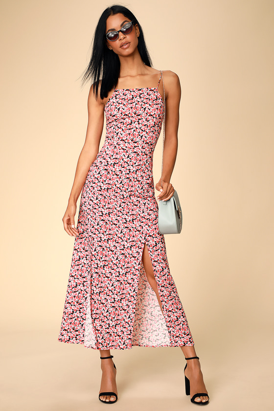 b7930993e64 The Fifth Label Fresco - Floral Print Dress - Backless Midi Dress