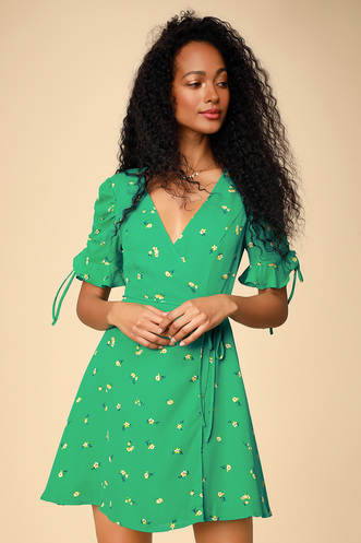 8f1d9bb6e22 Shop Short or Long Wrap Dress in the Latest Style for Less