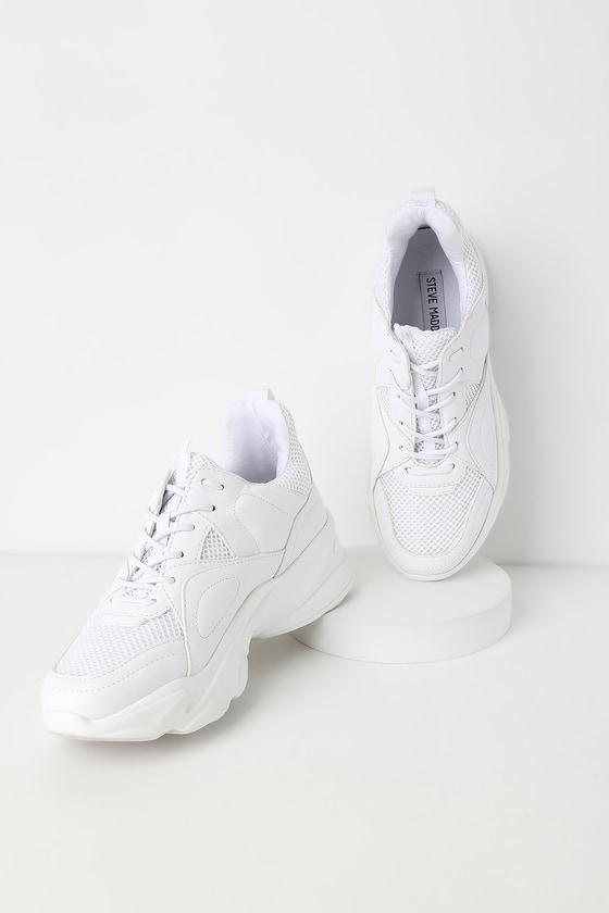 Steve Madden Movement - White Sneakers