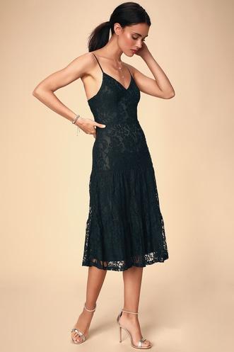 0b6e9806da1fd Trendy Women's Midi Dresses: The Perfect Length at the Perfect Price ...