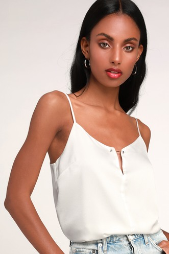 c53a9fb24 Ashcroft Ivory Satin Cami Top