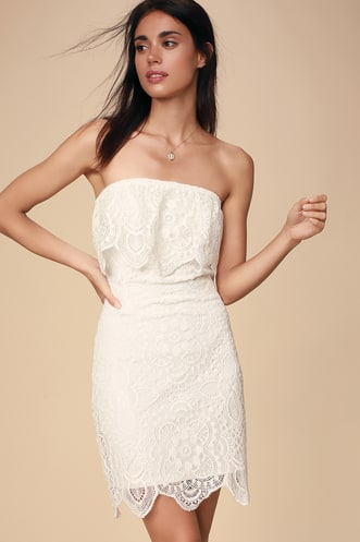 150accf14c67c Trendy White Dresses for Women in the Latest Styles | Find a Cute ...