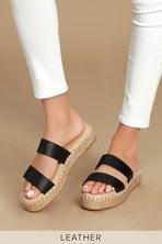 dd88de837 Report Marilyn Sandals - Woven Flatform Sandals - Espadrilles