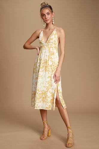 38844427fb1d9 Latest Women's Halter Dress Styles at Affordable Prices | Get These ...