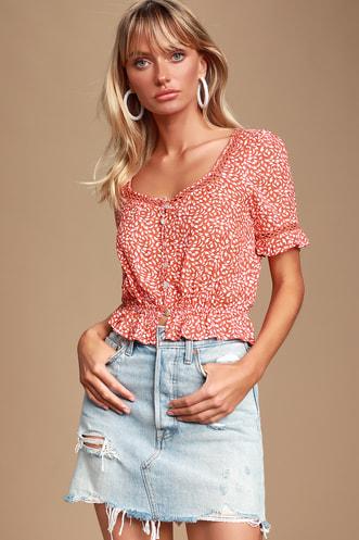 c21de413416ed Cute Blouses and Button-Ups for Women at Lulus.com