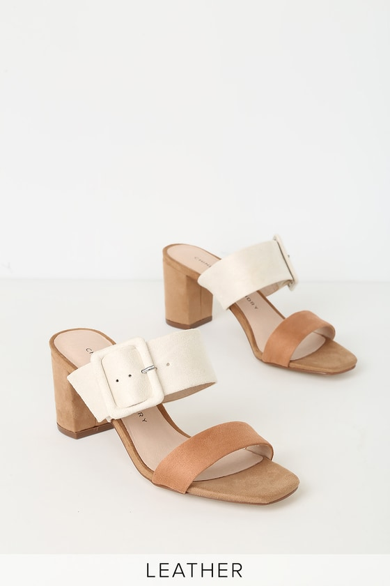 Chinese Heel Multi Laundry Sandals High Yippy Cream R5jL43A