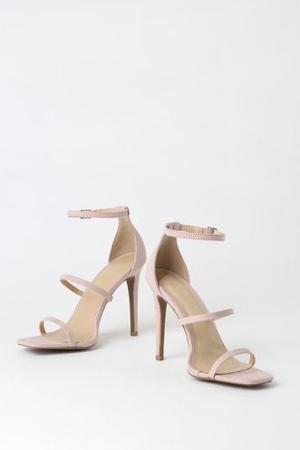 e7bd932a1f Nude Shoes & Blush Heels | Shop Nude Dress Sandals at Lulus