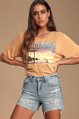 764182bc Cute Summer Shirts for Women | Shop Summer Clothes at Lulus