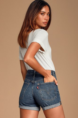2949a5a05 High-Waisted Shorts, Jeans, Pants, and Skirts at Lulus.com