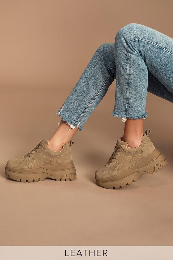 Steve Madden Hansel Sneakers - Tan