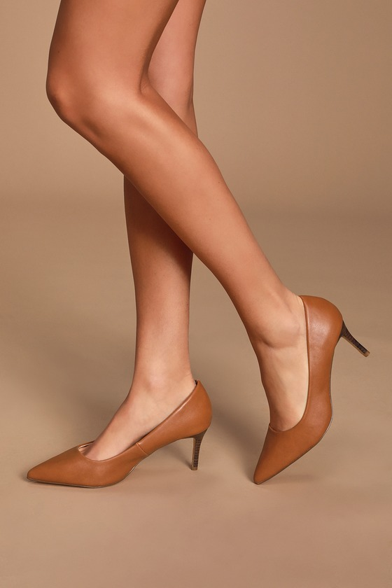 Cassidy Tan Pumps by Lulus