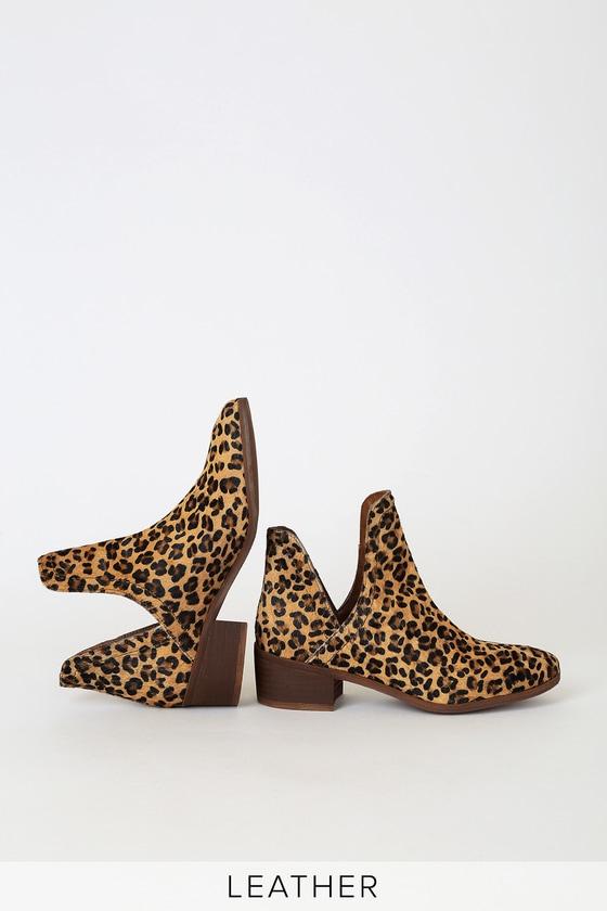 Matisse Pronto - Leopard Booties