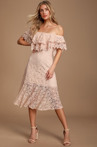 c57eef14101 Find a Cute Off-Shoulder Casual Dress at a Great Price | Trendy ...