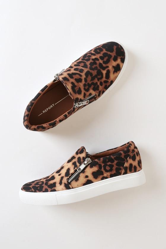 Report Annora Sneakers - Leopard Print