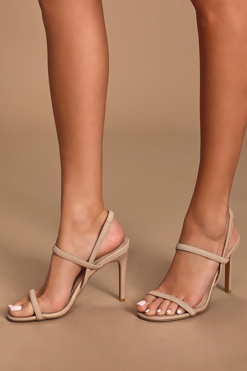 High Strappy Heels