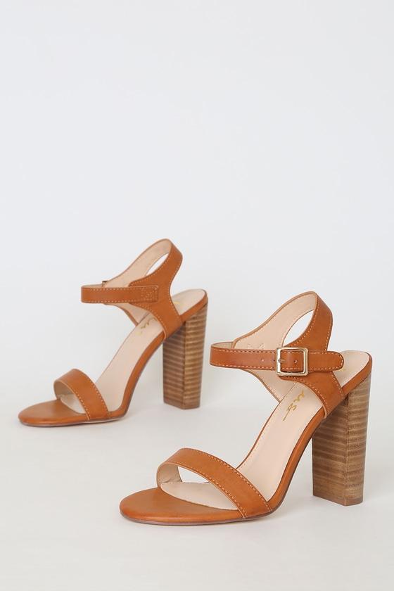 f59d733c9f9 Dauphine Natural High Heel Sandals