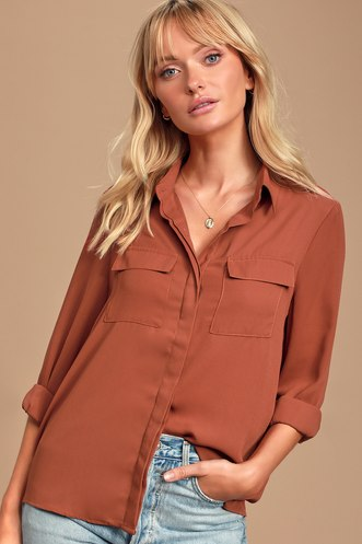 38ac011f931 Cute Blouses and Shirts for Women | Sexy Button Down Shirts
