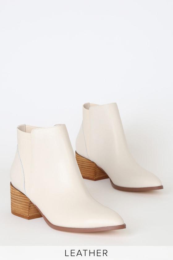 Chinese Laundry Finn - Ecru Boots