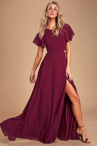 c7fb5eeab0a44 Trendy, Cute Burgundy Dresses for Less | Find a Casual Burgundy ...