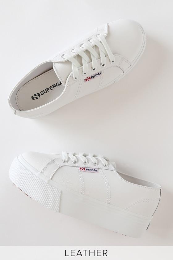 S00C790 NAPPALEAW Nappa Leather Platform Sneakers