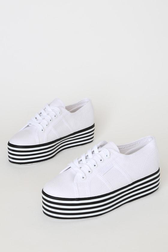 Superga 2790 COTW - White Striped