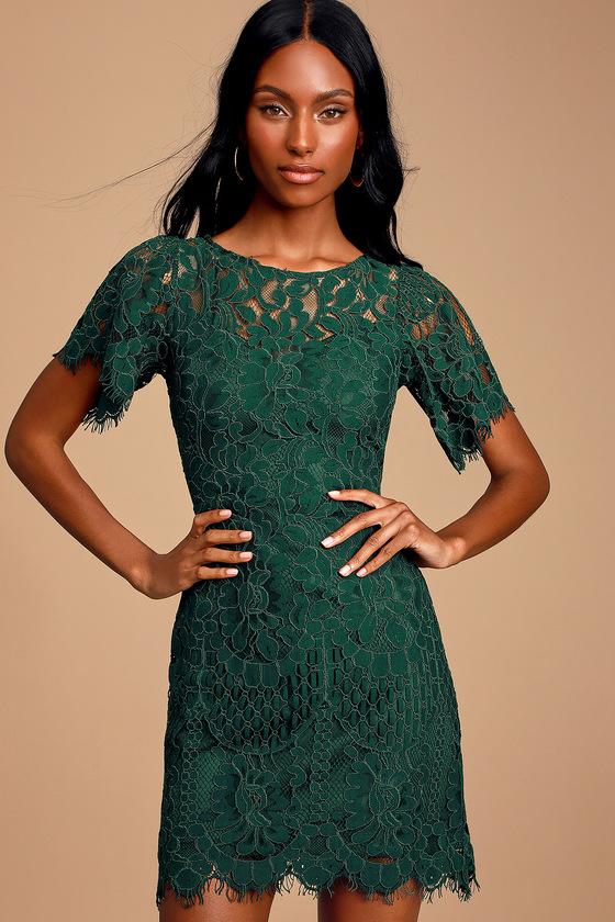 Emerald Green Short Dresses