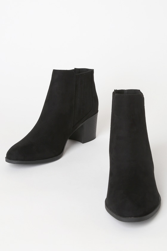 Suede Boots Ankle
