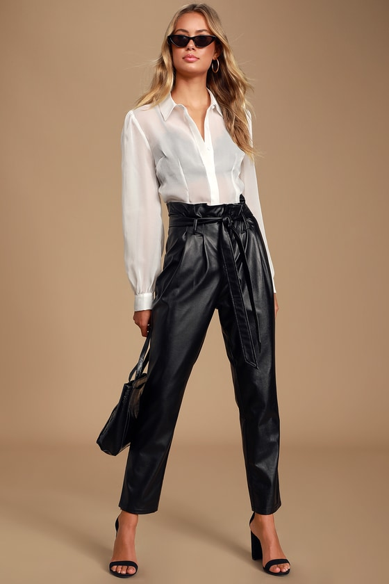 Neutral Wide-Leg Pleated Gabardine Trousers | Rochas | MR PORTER | 840x560