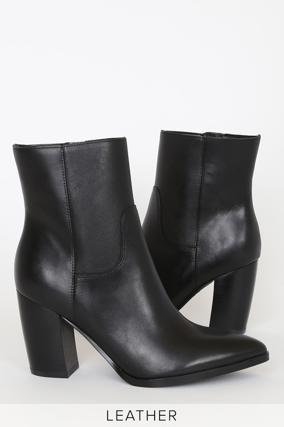 Marc Fisher LTD Giana - Black Leather