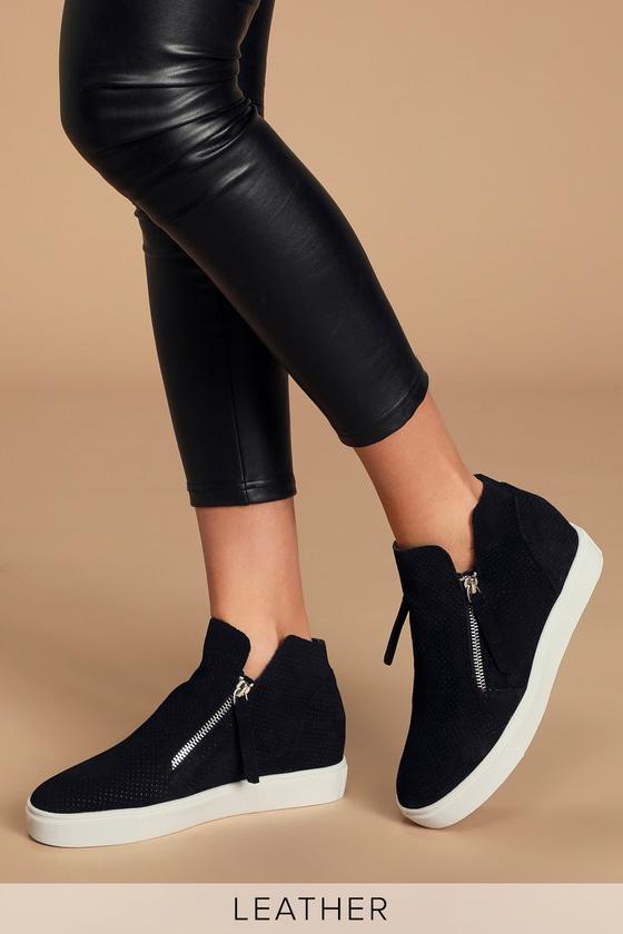 Steve Madden Caliber - Black Sneakers