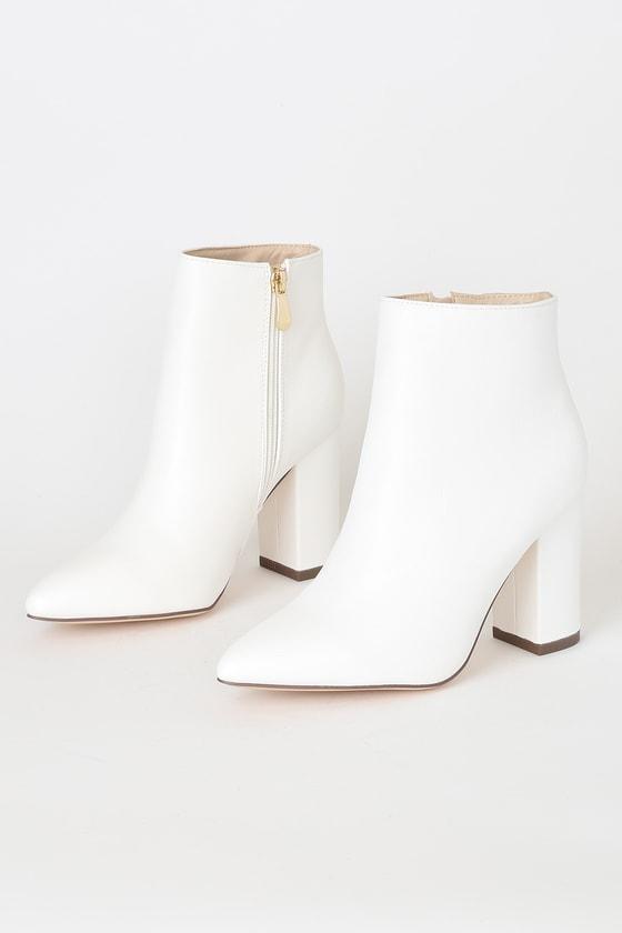 High Heel Booties - Ankle Booties - Lulus