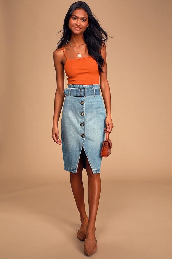black friday fashion sales, denim skirt