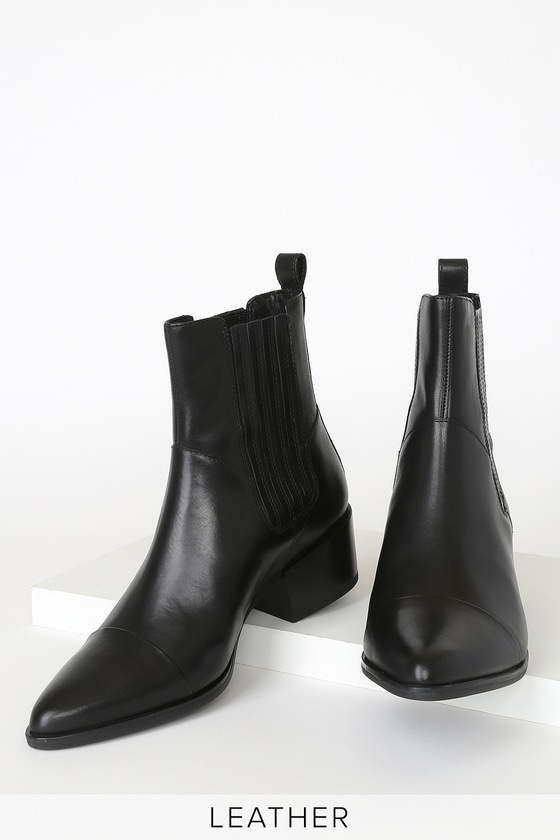Chic Black Boots - Ankle Boots