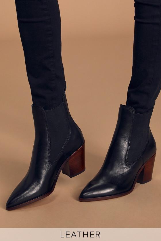 Dolce Vita Sabile - Black Leather Boots