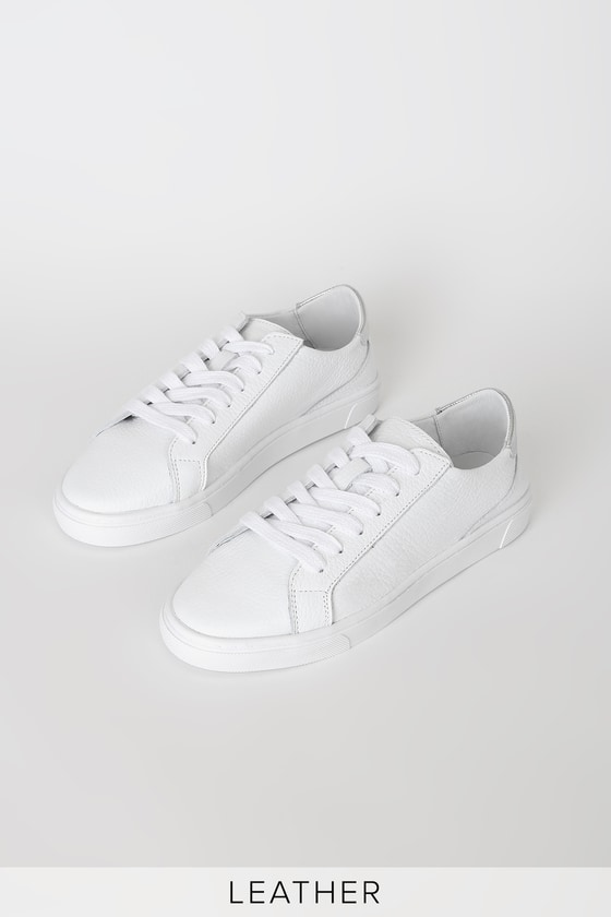 Steve Madden Glove Silver - White