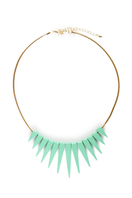 Spice-icles Spike Necklace at Lulus.com!