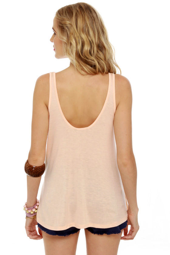 Obey Heartbreaker Pink Tank Top at Lulus.com!