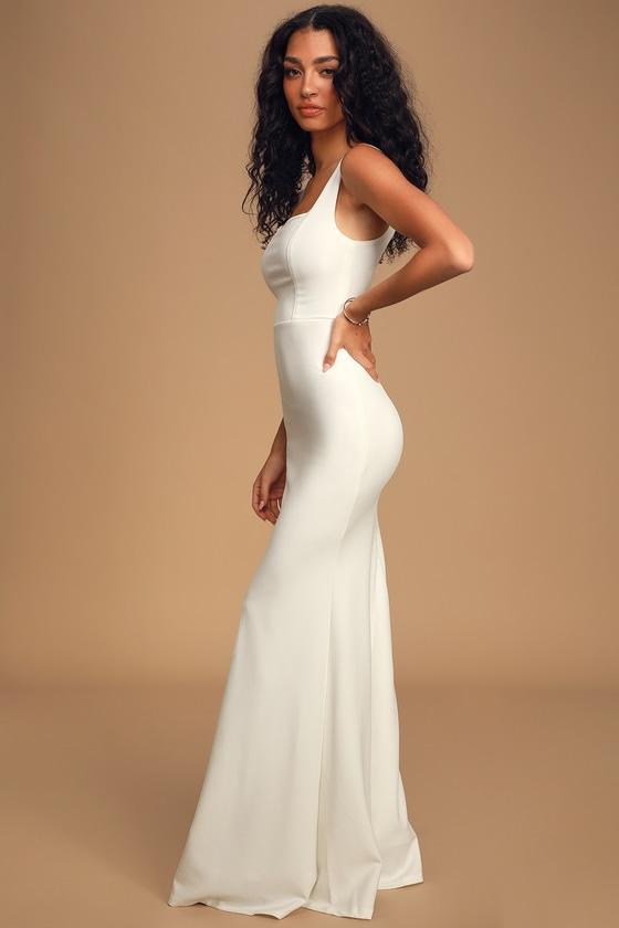 Sweetest Thing White Maxi Dress - Lulus