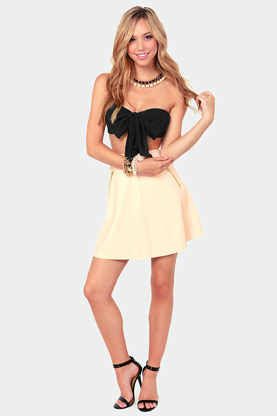 Havana Cabana Black Bandeau Top at Lulus.com!