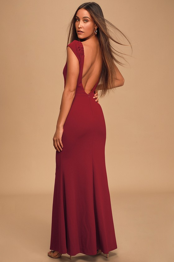 Stunning Ankle Skimming Beaded Evening Party Special Ocassion Maxi Dress