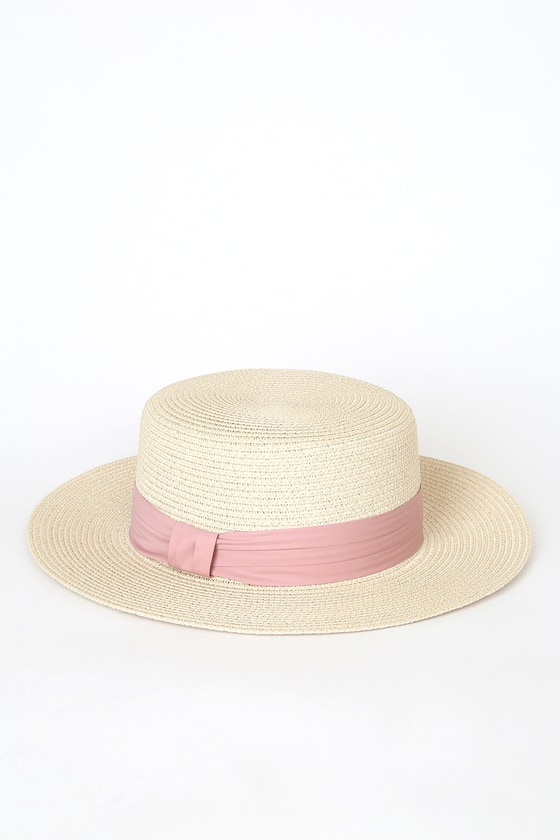 Women's Vintage Hats | Old Fashioned Hats | Retro Hats Day in the Shade Beige Straw Hat - Lulus $28.00 AT vintagedancer.com