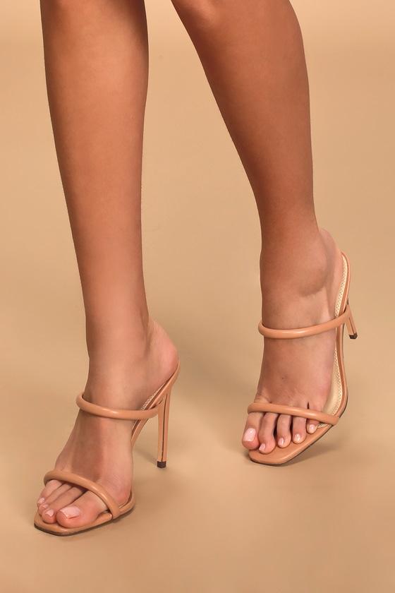 Square-Toe Heels - Lulus