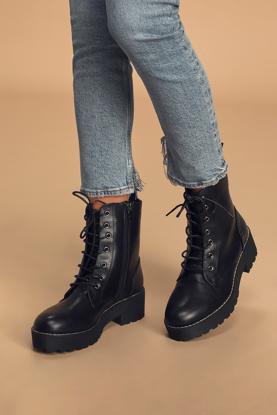 Dirty Laundry Moore - Black Boots - Mid