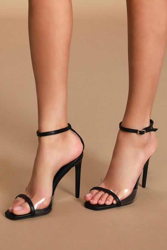Vegan Leather and Vinyl Heels