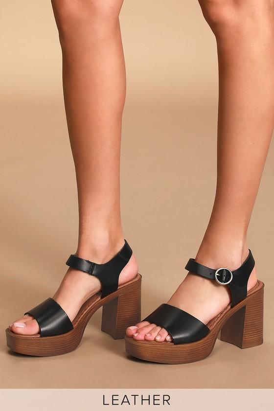Musse \u0026 Cloud Uma - Black High Heels