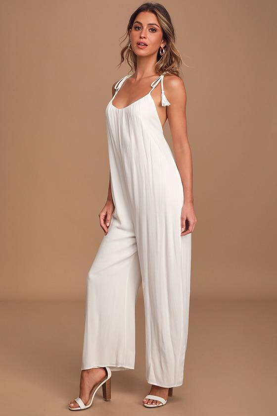 Womens Scoop Neck Spaghetti Straps Floral Print Elastic Waist Wide Leg Long Pants Jumpsuit Rompers Blue US 4-6//Tag Size S