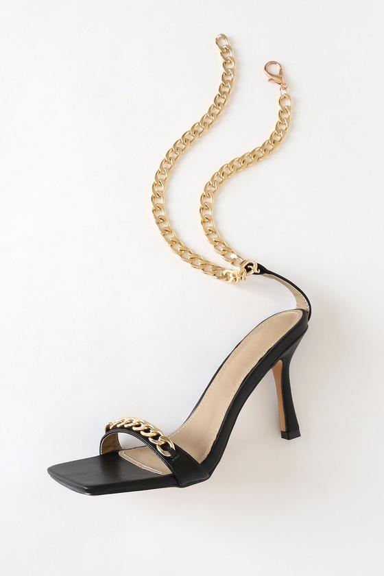 High Heel Sandals - Ankle Strap